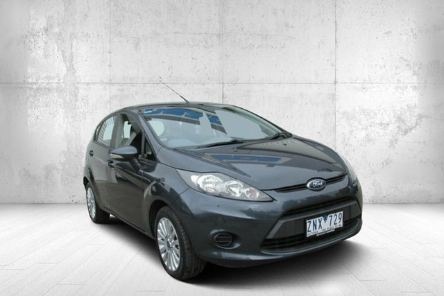 Used Ford Fiesta WT LX PwrShift, 2013 Ford Fiesta WT LX PwrShift Grey 6 Speed Sports Automatic Dual Clutch Hatchback
