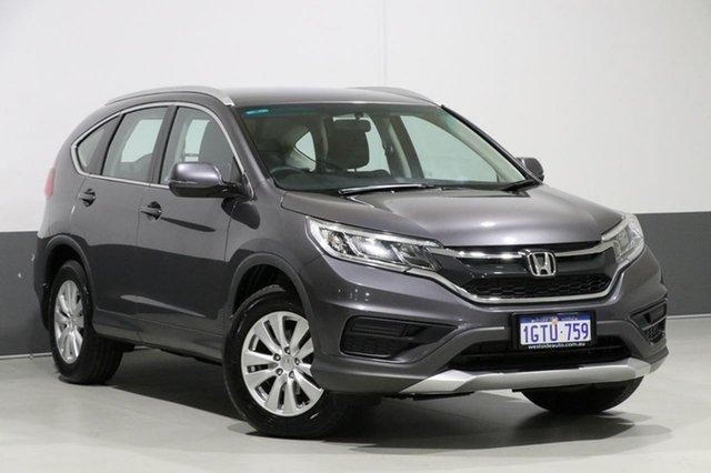 Used Honda CR-V 30 MY15 VTi (4x2), 2014 Honda CR-V 30 MY15 VTi (4x2) Grey 6 Speed Manual Wagon