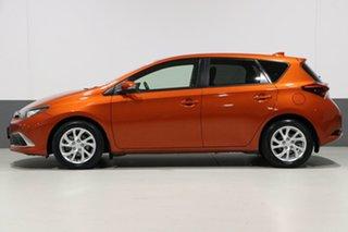 2017 Toyota Corolla ZRE182R MY15 Ascent Sport Orange 7 Speed CVT Auto Sequential Hatchback