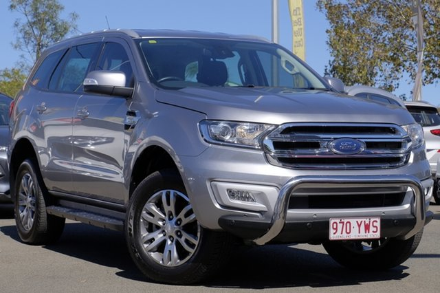 Used Ford Everest UA Trend 4WD, 2015 Ford Everest UA Trend 4WD Silver 6 Speed Sports Automatic Wagon