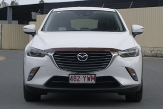 2015 Mazda CX-3 DK4W7A Akari SKYACTIV-Drive i-ACTIV AWD White 6 Speed Sports Automatic Wagon