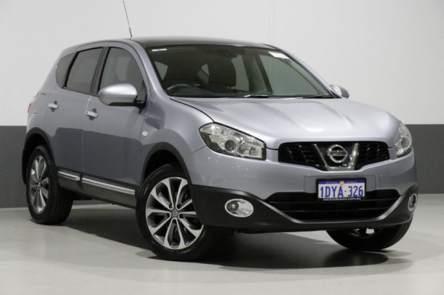 Used Nissan Dualis J10 Series 3 TI (4x2), 2012 Nissan Dualis J10 Series 3 TI (4x2) Grey 6 Speed CVT Auto Sequential Wagon