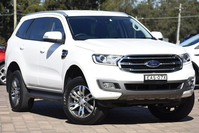 Demo Ford Everest UA II 2019.00MY Trend 4WD, 2019 Ford Everest UA II 2019.00MY Trend 4WD Arctic White 10 Speed Sports Automatic SUV