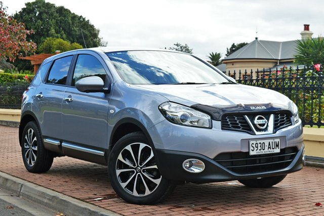Used Nissan Dualis J10W Series 3 MY12 Ti-L Hatch X-tronic 2WD, 2012 Nissan Dualis J10W Series 3 MY12 Ti-L Hatch X-tronic 2WD Silver 6 Speed Constant Variable