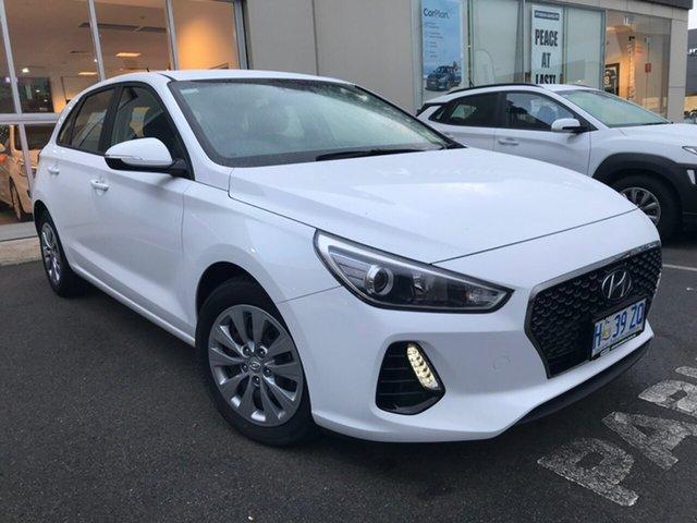 Demo Hyundai i30 PD MY18 Go, 2018 Hyundai i30 PD MY18 Go Polar White 6 Speed Sports Automatic Hatchback