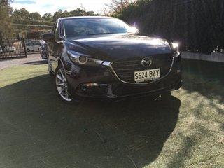 2018 Mazda 3 BN5438 SP25 SKYACTIV-Drive GT Jet Black 6 Speed Sports Automatic Hatchback.