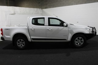 2014 Holden Colorado RG MY14 LX Crew Cab 4x2 Summit White 6 Speed Manual Utility