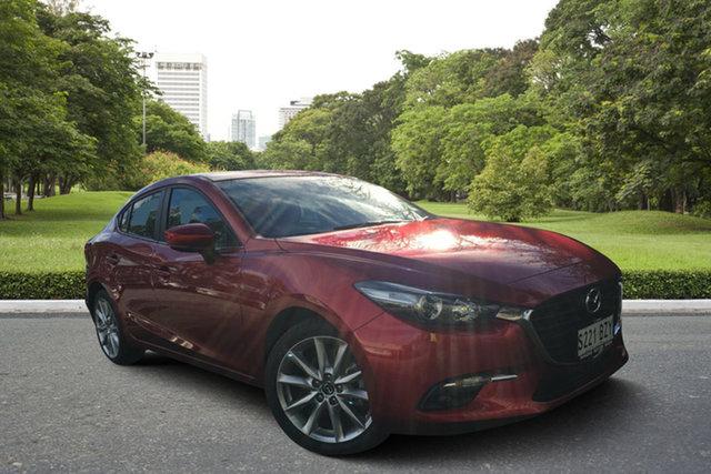 Demo Mazda 3 BN5236 SP25 SKYACTIV-MT, 2018 Mazda 3 BN5236 SP25 SKYACTIV-MT Soul Red 6 Speed Manual Sedan