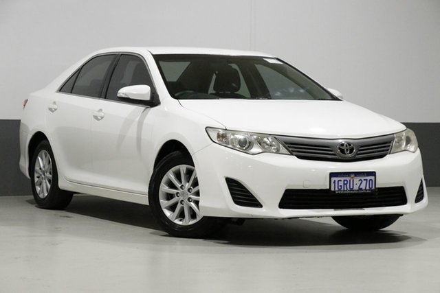 Used Toyota Camry ASV50R Altise, 2012 Toyota Camry ASV50R Altise White 6 Speed Automatic Sedan