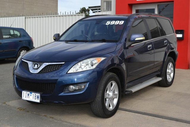 Used Great Wall X240  , 2011 Great Wall X240 Blue 5 Speed Manual Wagon
