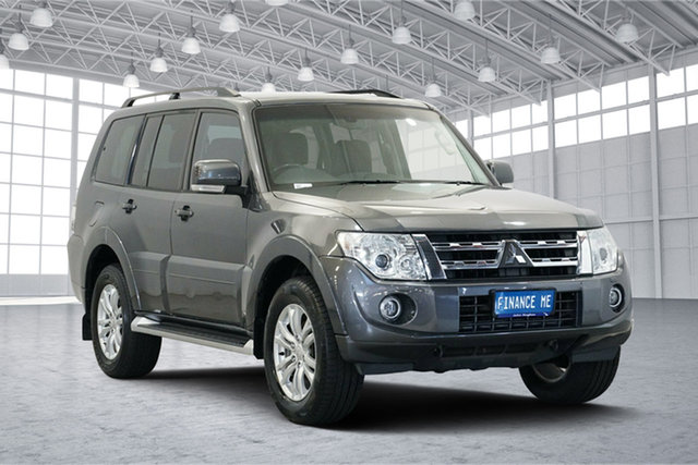 Used Mitsubishi Pajero NW MY14 VR-X, 2014 Mitsubishi Pajero NW MY14 VR-X Dark Grey 5 Speed Sports Automatic Wagon