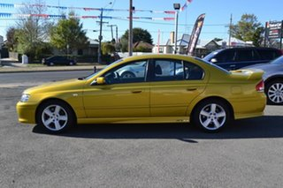 2003 Ford Falcon BA XR6 Gold 4 Speed Auto Seq Sportshift Sedan.