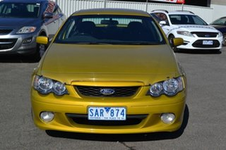 2003 Ford Falcon BA XR6 Gold 4 Speed Automatic Sedan
