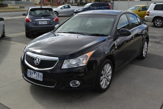 Used Holden Cruze  CDX, 2011 Holden Cruze JH SERIES 2 FWD CDX Black Automated Sedan