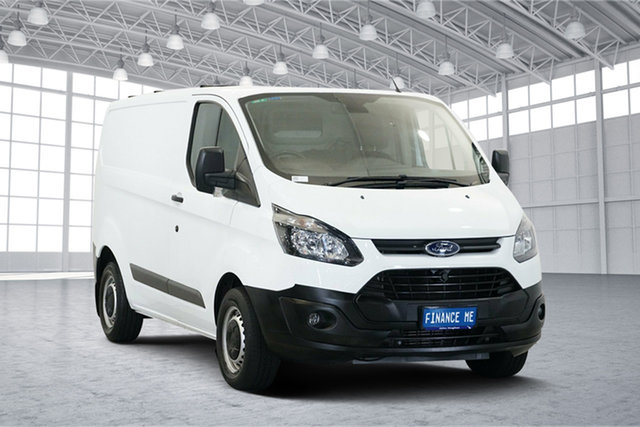 Used Ford Transit Custom VN 290S Low Roof SWB, 2015 Ford Transit Custom VN 290S Low Roof SWB White 6 Speed Manual Van