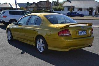 2003 Ford Falcon BA XR6 Gold 4 Speed Automatic Sedan.