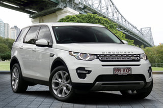 2015 Land Rover Discovery Sport L550 15MY SD4 HSE White 9 Speed Sports Automatic Wagon