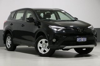 2018 Toyota RAV4 ASA44R MY18 GX (4x4) Black 6 Speed Automatic Wagon.
