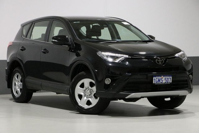 Used Toyota RAV4 ASA44R MY18 GX (4x4), 2018 Toyota RAV4 ASA44R MY18 GX (4x4) Black 6 Speed Automatic Wagon