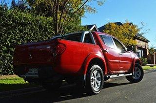 2013 Mitsubishi Triton MN MY14 GLX-R Double Cab Red 5 Speed Sports Automatic Utility.