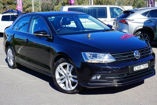 Used Volkswagen Jetta 1B MY15 103TDI DSG Highline, 2015 Volkswagen Jetta 1B MY15 103TDI DSG Highline Black 6 Speed Sports Automatic Dual Clutch Sedan
