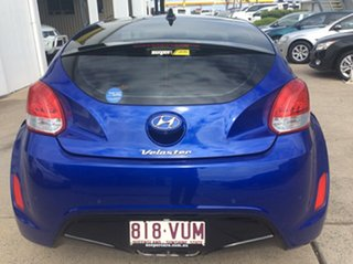 2012 Hyundai Veloster FS + Coupe Blue 6 Speed Manual Hatchback