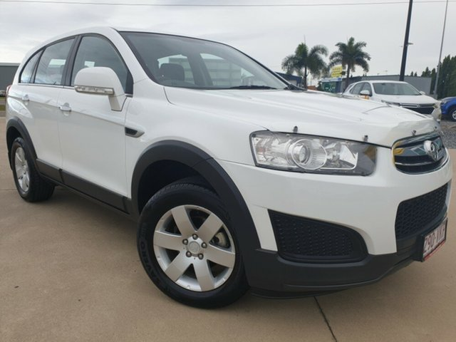 Used Holden Captiva CG MY15 7 LS, 2014 Holden Captiva CG MY15 7 LS White 6 Speed Sports Automatic Wagon