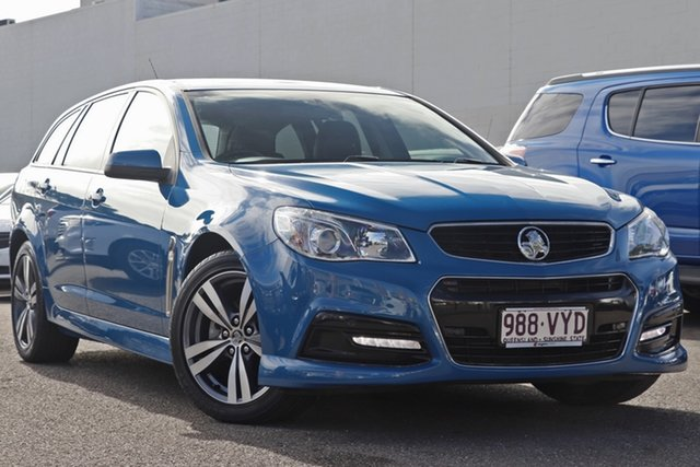 Used Holden Commodore VF MY15 SV6 Sportwagon, 2015 Holden Commodore VF MY15 SV6 Sportwagon Blue 6 Speed Sports Automatic Wagon