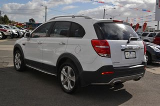 2015 Holden CAPTIVA-7 CG MY15 LTZ 4WD LTZ 7 White Automatic Wagon.
