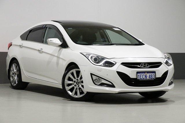 Used Hyundai i40 VF 2 Premium, 2013 Hyundai i40 VF 2 Premium White 6 Speed Automatic Sedan
