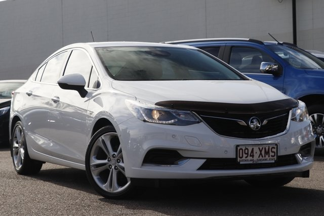Used Holden Astra BL MY17 LTZ, 2017 Holden Astra BL MY17 LTZ White 6 Speed Sports Automatic Sedan