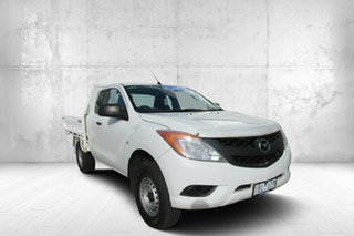 2014 Mazda BT-50 XT Hi-Rider XT Freestyle 4x2 Hi-Rider White 6 Speed Manual.