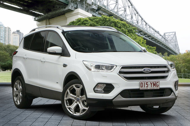 Used Ford Escape ZG 2018.75MY Titanium AWD, 2018 Ford Escape ZG 2018.75MY Titanium AWD White 6 Speed Sports Automatic Wagon