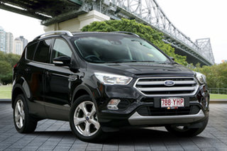 2018 Ford Escape ZG 2018.75MY Trend 2WD Black 6 Speed Sports Automatic Wagon.