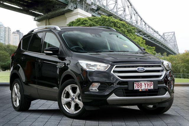 Used Ford Escape ZG 2018.75MY Trend 2WD, 2018 Ford Escape ZG 2018.75MY Trend 2WD Black 6 Speed Sports Automatic Wagon