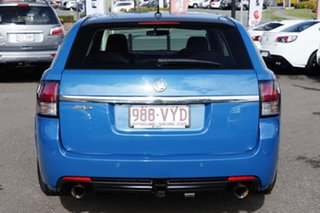 2015 Holden Commodore VF MY15 SV6 Sportwagon Blue 6 Speed Sports Automatic Wagon