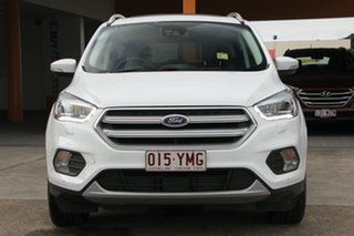 2018 Ford Escape ZG 2018.75MY Titanium AWD White 6 Speed Sports Automatic Wagon