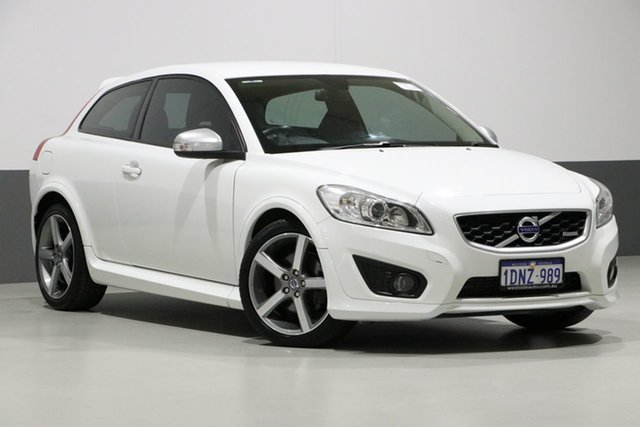 Used Volvo C30 MY11 T5 R-Design, 2011 Volvo C30 MY11 T5 R-Design White 5 Speed Auto Geartronic Hatchback