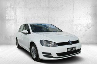2015 Volkswagen Golf VII MY15 90TSI DSG White 7 Speed Sports Automatic Dual Clutch Hatchback.