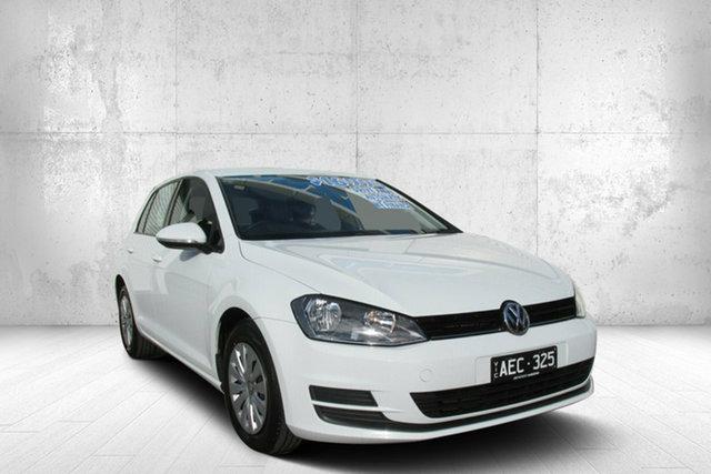 Used Volkswagen Golf VII MY15 90TSI DSG, 2015 Volkswagen Golf VII MY15 90TSI DSG White 7 Speed Sports Automatic Dual Clutch Hatchback