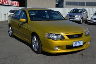 2003 Ford Falcon BA XR6 Gold 4 Speed Auto Seq Sportshift Sedan