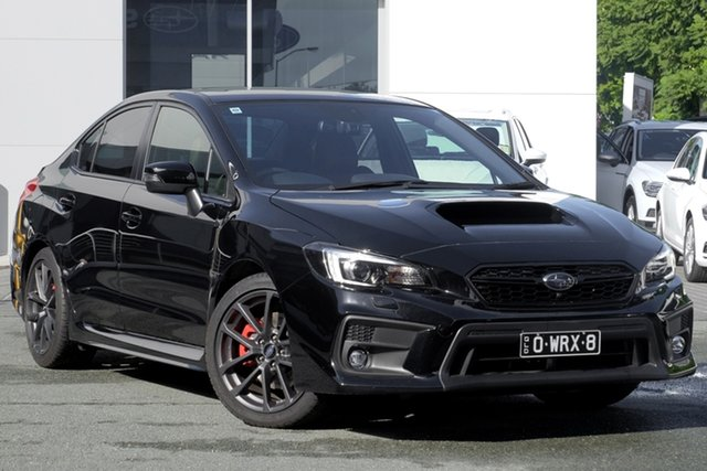 Demo Subaru WRX V1 MY18 Premium AWD, 2018 Subaru WRX V1 MY18 Premium AWD Crystal Black Silica 6 Speed Manual Sedan