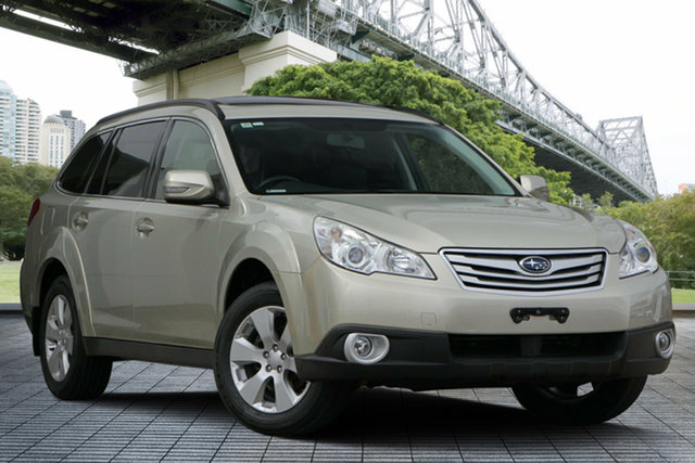 Used Subaru Outback B5A MY10 2.5i Lineartronic AWD Premium, 2010 Subaru Outback B5A MY10 2.5i Lineartronic AWD Premium Beige 6 Speed Constant Variable Wagon