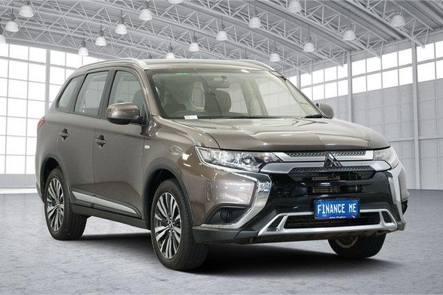 Used Mitsubishi Outlander ZL MY19 ES AWD, 2018 Mitsubishi Outlander ZL MY19 ES AWD Ironbark 6 Speed Constant Variable Wagon