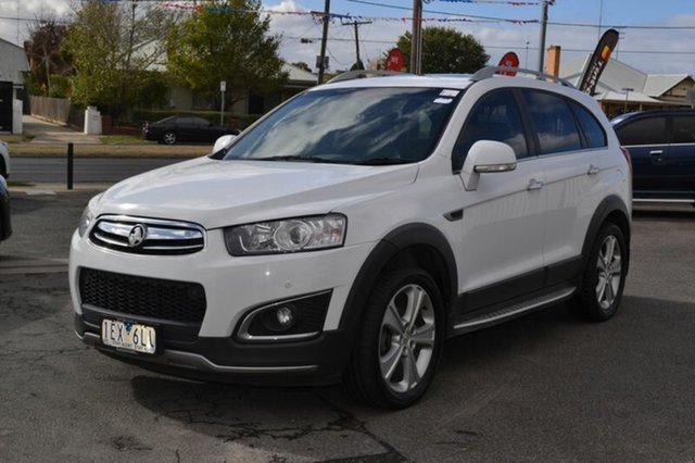 Used Holden CAPTIVA-7  , 2015 Holden CAPTIVA-7 CG MY15 LTZ 4WD LTZ 7 White Automatic Wagon