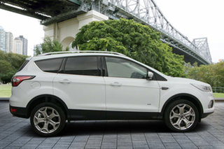2018 Ford Escape ZG 2018.75MY Titanium AWD White 6 Speed Sports Automatic Wagon.