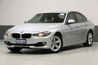 2012 BMW 328i F30 Silver 8 Speed Automatic Sedan.