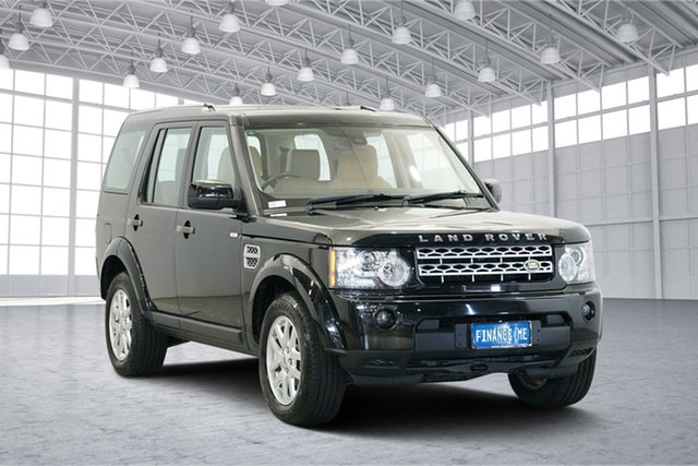 Used Land Rover Discovery 4 Series 4 10MY TdV6 CommandShift SE, 2010 Land Rover Discovery 4 Series 4 10MY TdV6 CommandShift SE Black 6 Speed Sports Automatic Wagon
