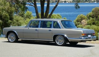 1971 Mercedes-Benz 600 W100 Grand LWB Champagne 4 Speed Automatic Sedan.