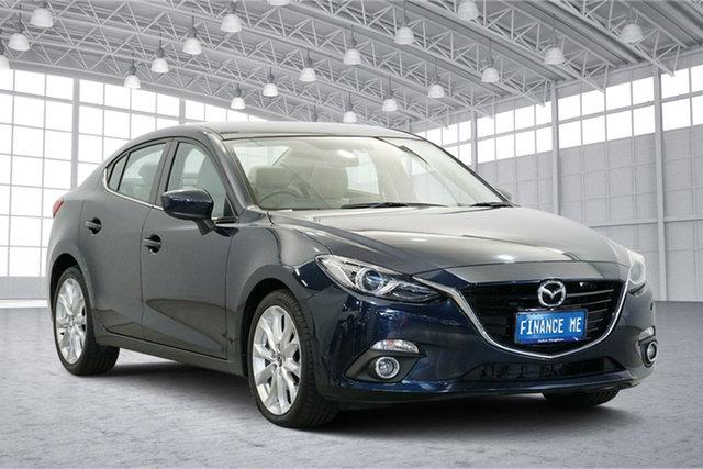 Used Mazda 3 BM5238 SP25 SKYACTIV-Drive, 2014 Mazda 3 BM5238 SP25 SKYACTIV-Drive Blue 6 Speed Sports Automatic Sedan
